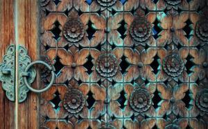 Carved Door
